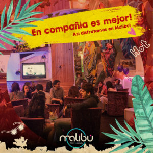 gente malibu – amistades – parejas-malibu bar en cali-restaurante ne cali
